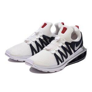 Nike Shox Gravity Silver White Blue Mens Shoes